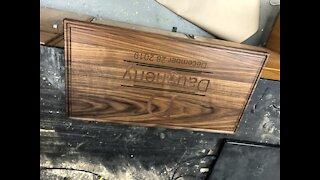 Making a cutting board