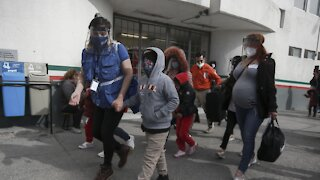 U.S. Officials Encountered 100K Migrants At Southern Border Last Month