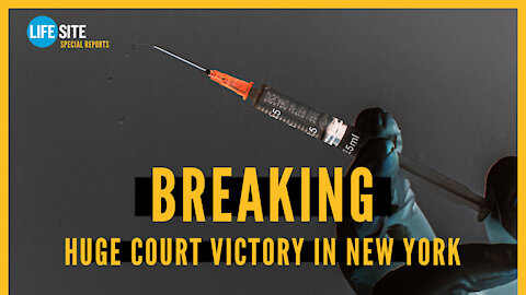 BREAKING: Vaccine mandate halted in New York for religious exemptions