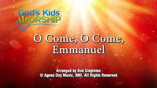 Kids Christmas - O Come O Come Emmanuel