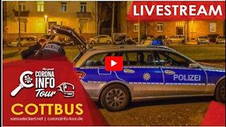 Bodo Schiffmann - Samuel Eckhart - Polizei stürmt unser Dinner - 13.10.2020