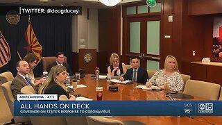 Arizona Governor Doug Ducey talks coronavirus in Arizona