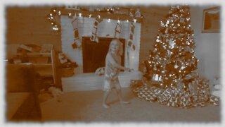 4 Year Old Christmas Morning Discovers Santa's Presents!