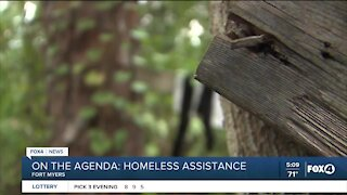 Fort Myers City Council to talk about homeless assistance