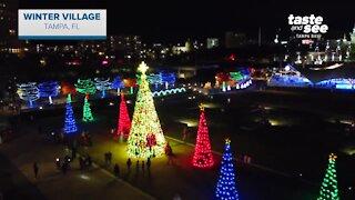 Giant Adventure: Winter Village at Tampa's Curtis Hixon Park