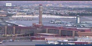 Flight diverted to Las Vegas lands safely