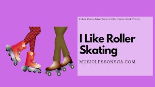 Piano Adventures Performance Book Primer - I Like Roller Skating