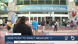 New push to expand Convention Center