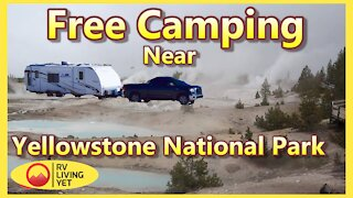 Boondocking Near Yellowstone National Park