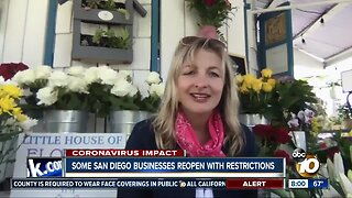 Some San Diego businesses reopen with restrictions