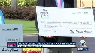 Honda Classic donates $4.5 Million to Charity