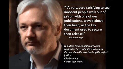 Happy 50th Birthday, Julian Assange, July 3rd 2021 w/ Music By Steve Arvey