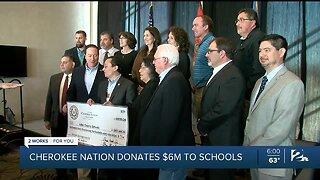Cherokee Nation Donates $6M To Schools