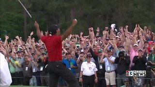 Tiger Woods wins first Masters since 2005