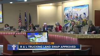 Boise City Council approves land swap between city and R & L Trucking Carriers