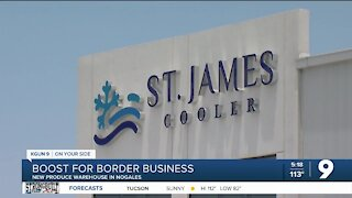 New produce warehouse to boost border business