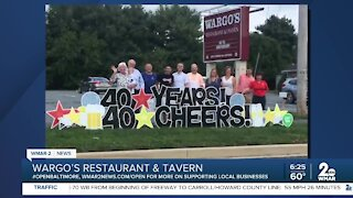 Good Morning Maryland from Wargo's Restaurant and Tavern