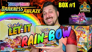 Darkness Ablaze Booster Case (Box 1) | Charizard Hunting | Pokemon Cards Opening