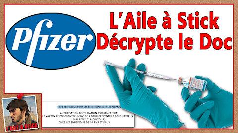 2021/050 L'Aile à Stick vous décrypte la fiche technique du vaccin COVID-19 de chez Pfizer