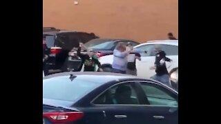 Anti-Israel Mob Assaults Elderly Jewish Man