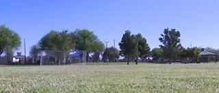 Soccer field dedication at Molasky Family Park