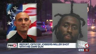 Fort Myers Police Officer shot by suspect with his own gun