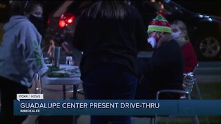 Guadalupe Center present drive thru