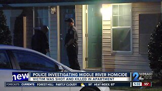 Police investigate Middle River homicide