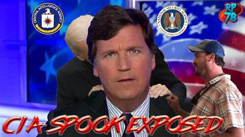 CIA Spook Accosts Tucker Carlson In Coordinated Smear Attempt