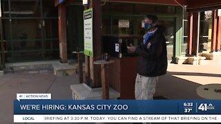 We're Hiring; Kansas City Zoo
