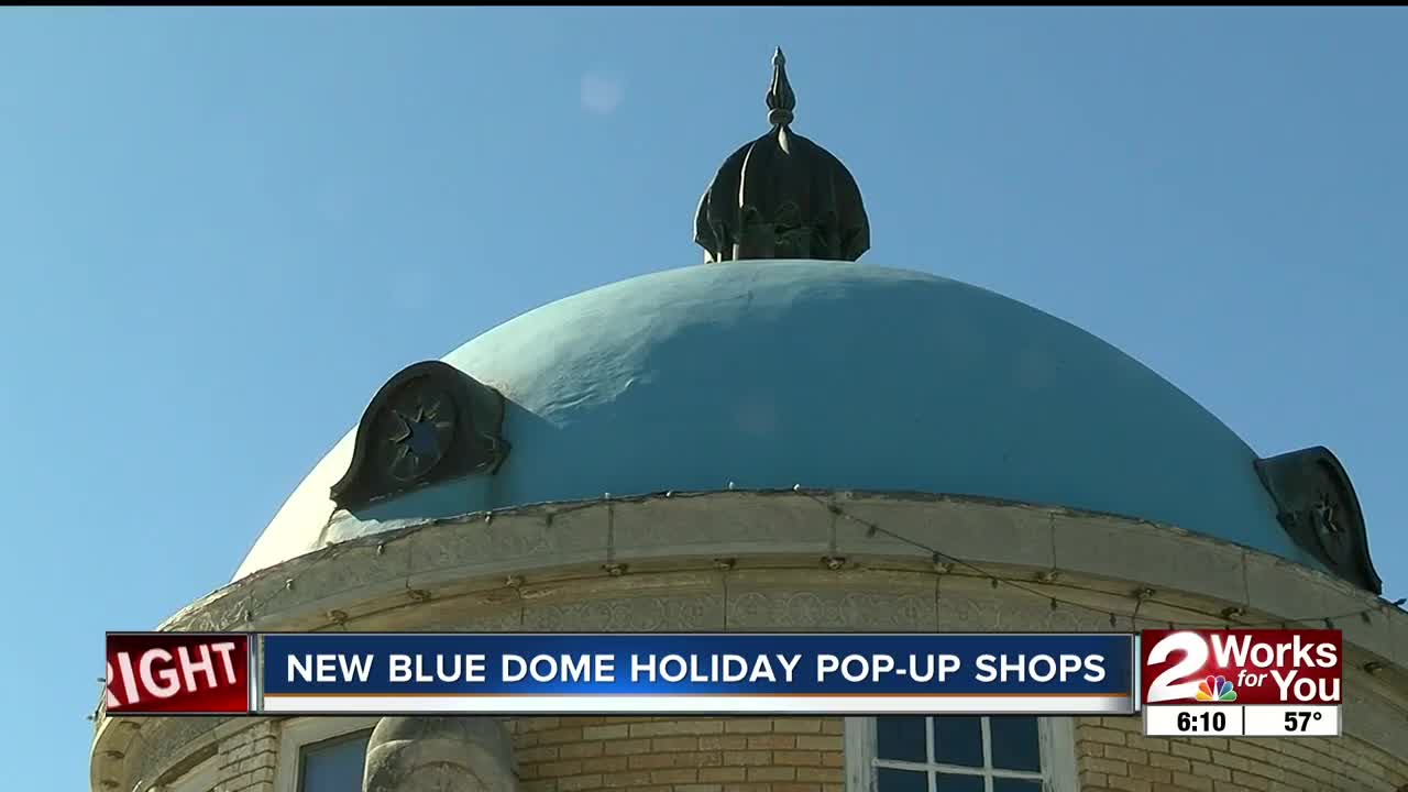 NEW BLUE DOME HOLIDAY POP-UP