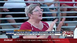 Lincoln Riley Talks OU Run Game