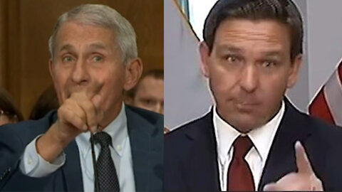 """""""You can't have mad scientists running around like this playing God"""" Ron Desantis calls out Fauci"""