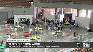 Arizona holds third 2020 presidential election audit
