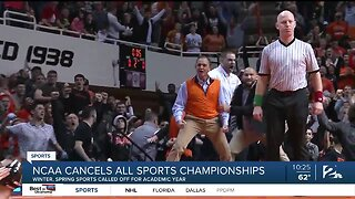 NCAA cancels Basketball Tournaments, all remaining Winter, Spring Sports Championships