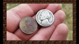 Metal Detecting a old Farmhouse late 1880's