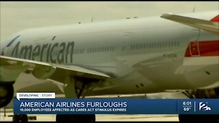 American Airlines to furlough 19,000 employees