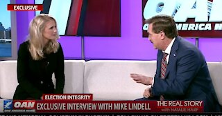 The Real Story - OANN Exclusive with Mike Lindell Pt. 2