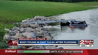 Body found in east Tulsa after flooding