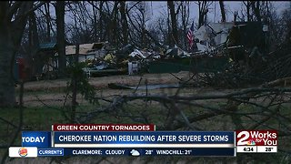 State, Cherokee Nation declare 'state of emergency' after tornado damage