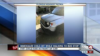 Child hit by vehicle in Immokalee