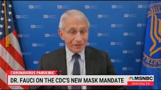 Fauci: The CDC Hasn't Flip Flopped At All On Masks