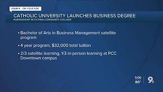 Catholic University to launch Tucson business degree program
