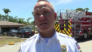House destroyed by fire in Bonita Springs