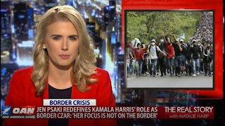 The Real Story - OANN Kamala Harris' Role at Southern Border