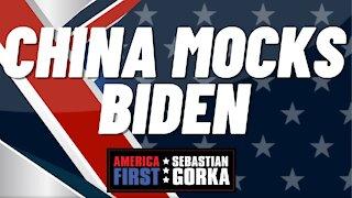 China mocks Biden. Gordon Chang with Sebastian Gorka on AMERICA First