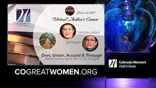 Colorado Women's Hall of Fame- Virtual Author's Corner