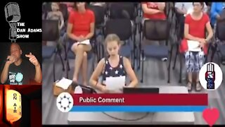 9 Year Old Confronts Minnesota School Board Over BLM Posters