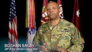 02/16/2021 Dental Corps Chief Video Message Career Mentorship, Motivation, and Education