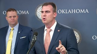 Gov. Kevin Stitt announces first executive orders